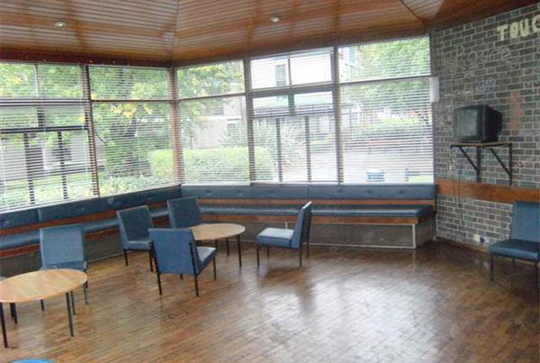 Sala de estar - Zona de ocio común de la residencia en Dublín