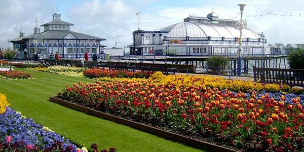 Eastbourne repleto de flores