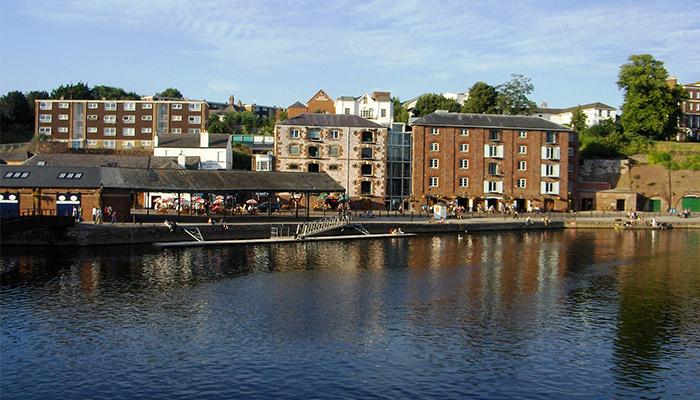 Río Exe en Exeter