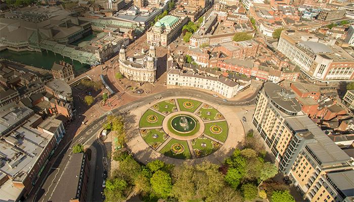 Vista aérea de Hull