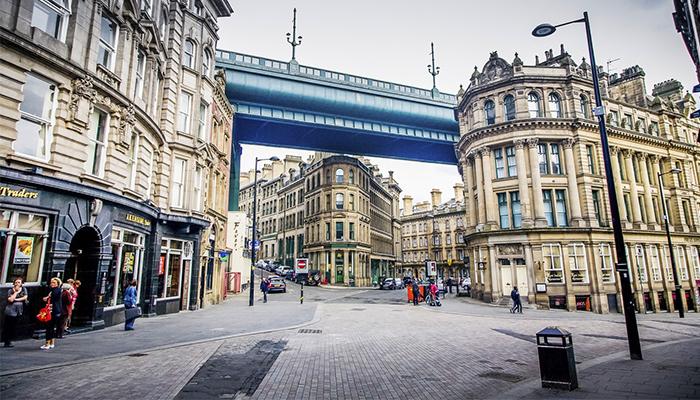 Calles de Newcastle