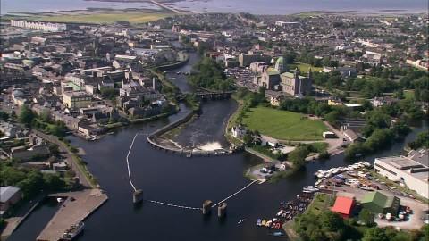 Vista aérea de Galway