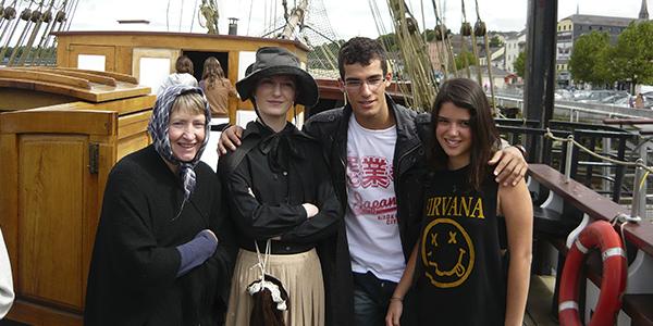 Visita por el barco de Gorey