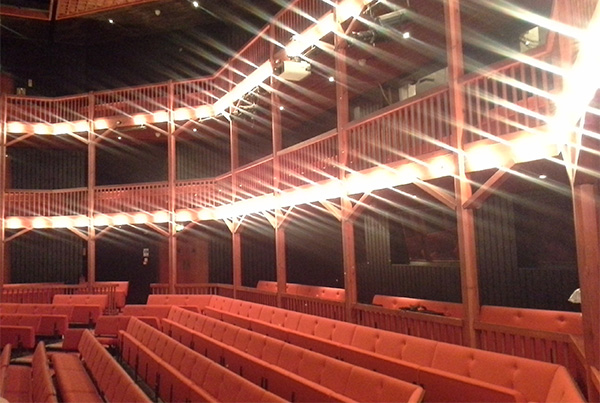 Teatro interior en Christ Hospital