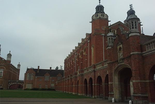 Vistas del internado desde el campus