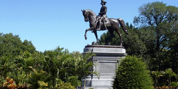 Boston Park statue