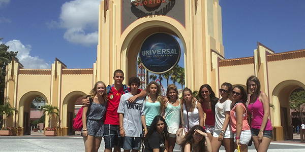 Nuestros jóvenes en Disneyworld