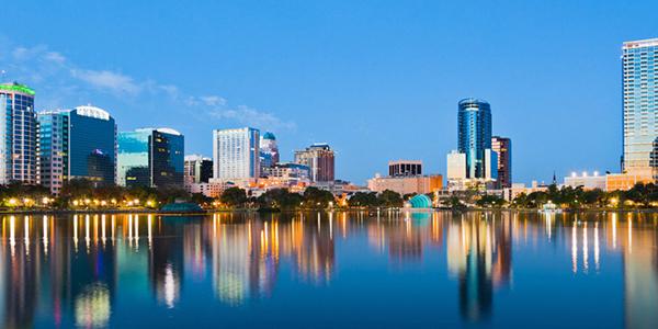 Orlando de noche