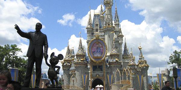 El castillo de Disneyworld