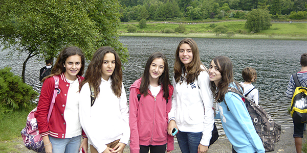 En el lago de Wicklow