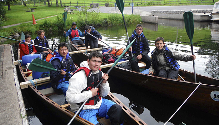 Kayaking en Lisnaskea
