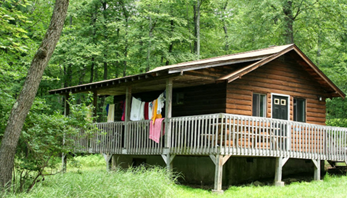 USA Camp cabaña