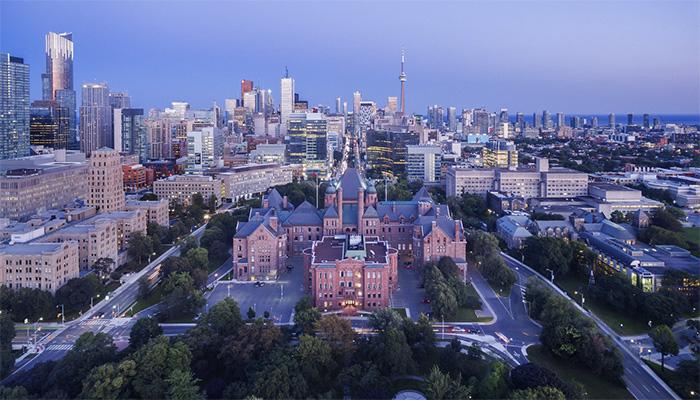 Ciudad de Toronto en Ontario