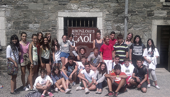 Grupo en Wicklow Gaol