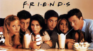 Friends series learn english sitcom