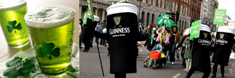 Cerveza Guinness Dublin St Patricks Day