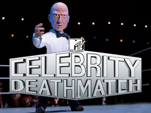 celebrity deathmatch MTV