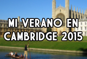 Mi verano en Cambridge