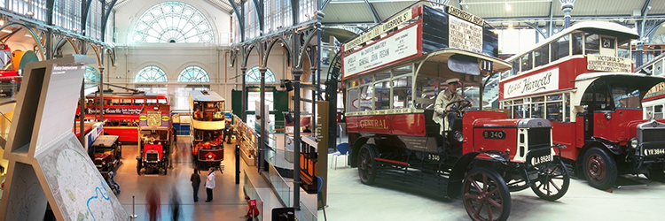 londres transport museum