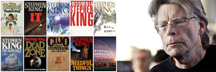 libros stephen king ingles