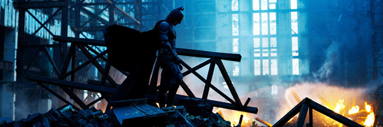 escena Batman el caballero oscuro battersea power station