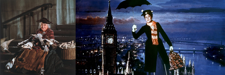 escena mary poppins disney